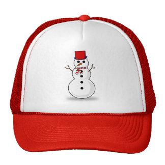 snowman christmas cap