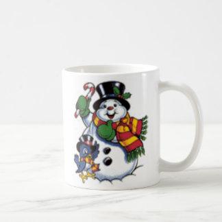 Snowman Christmas Coffee Mug