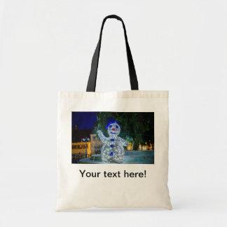 Snowman Christmas decoration Tote Bag