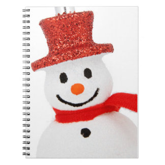 Snowman Christmas decoration Notebooks
