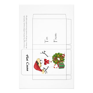 Snowman Christmas 14 Cm X 21.5 Cm Flyer