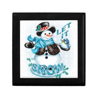 SNOWMAN CHRISTMAS GIFT BOX 2
