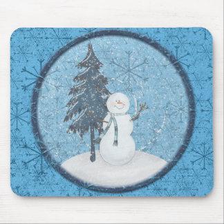 Snowman Christmas Mousepad