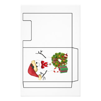 Snowman Christmas Personalized Flyer