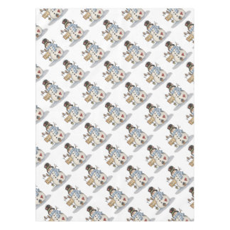 Snowman Christmas Tablecloth