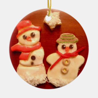 Snowman cookies *CUSTOMIZABLE* ornament