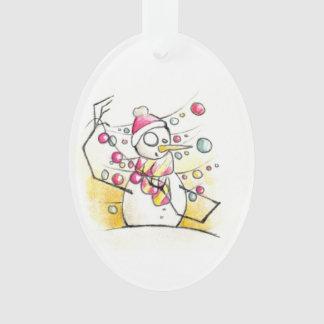 Snowman decorating | custom wish