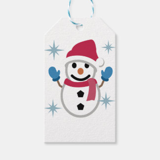 Snowman Drawing Gift Tags