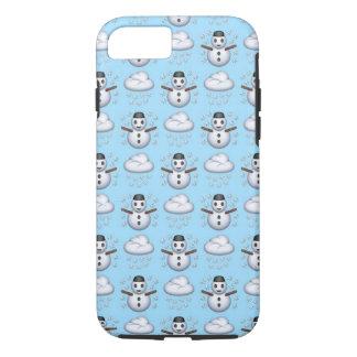 Snowman Emoji iPhone 7 Phone Case