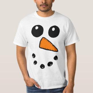Snowman Face 4 T-Shirt