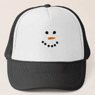 Snowman Face Cap