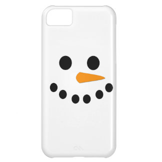 Snowman Face iPhone 5C Case
