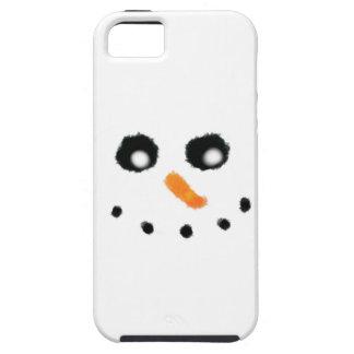 Snowman face iPhone case