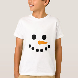 Snowman Face T-shirts