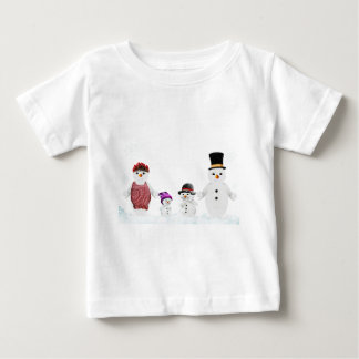 snowman family baby T-Shirt