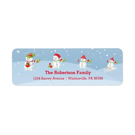Snowman Family | Holiday