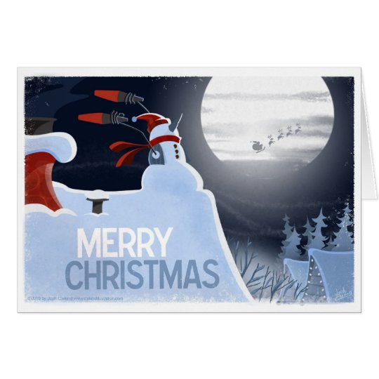 Snowman Flight Control Card