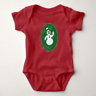 Snowman for Baby Baby Bodysuit