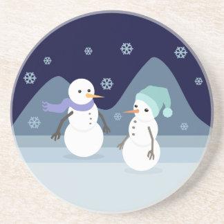 Snowman Friends Coaster