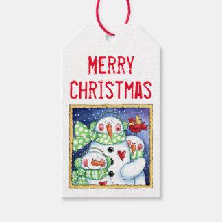 Snowman Friends Gift Tags