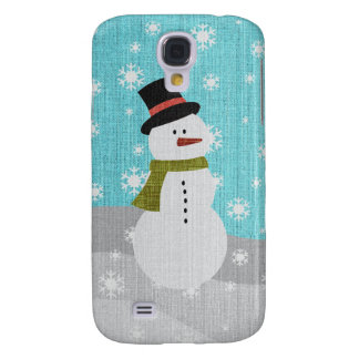 Snowman Galaxy S4 Case
