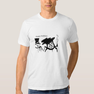 SNOWMAN HAPPY HOLIDAYS Shirts n Tees