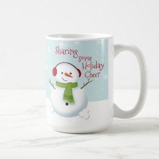 Snowman Holiday Cheer Coffee Mug
