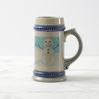 Snowman Holiday Steins Coffee Mugs