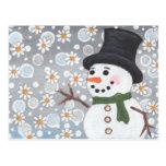 Snowman in a Snowstorm
