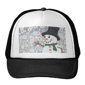 Snowman in a Snowstorm Hats
