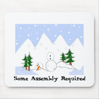 Snowman In Need Mouse Mat