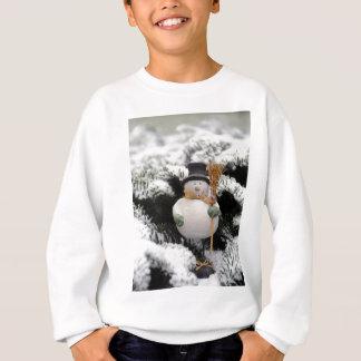 Snowman in Trees Sweatshirt