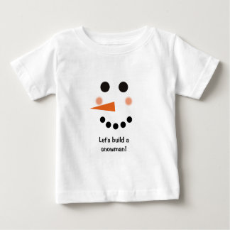 Snowman Infant T-shirt