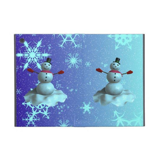 Snowman Cover For iPad Mini