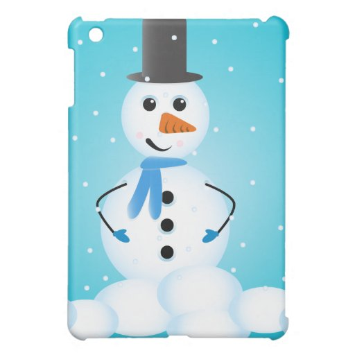Snowman Cover For The iPad Mini
