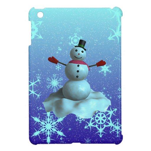 Snowman iPad Mini Covers