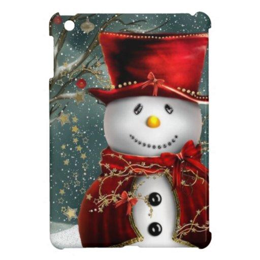 Snowman iPad Mini Cover