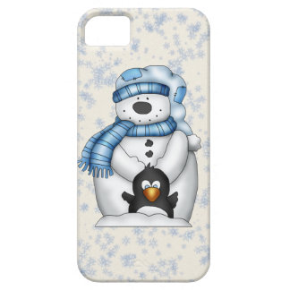 Snowman iPhone 5 barely there Case For The iPhone 5