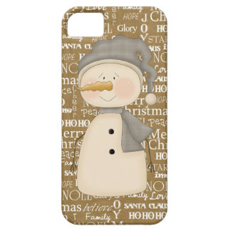 Snowman iPhone 5 barely there iPhone 5 Case