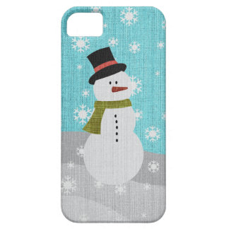 Snowman iPhone 5 Covers