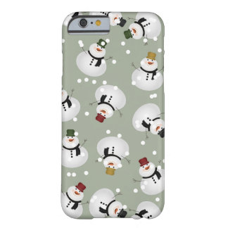 Snowman iPhone 6/6s, Barely There Barely There iPhone 6 Case