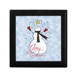 Snowman Joy Gift Box