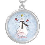 Snowman Joy Necklace