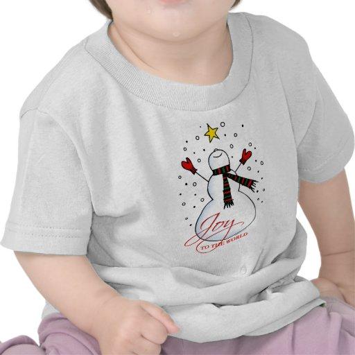 Snowman Joy Tee Shirt