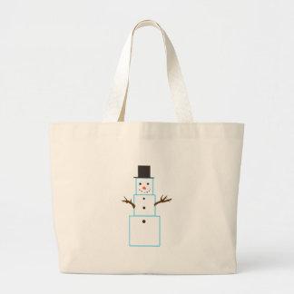 SNOWMAN JUMBO TOTE BAG