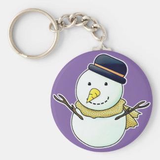 Snowman Key Ring