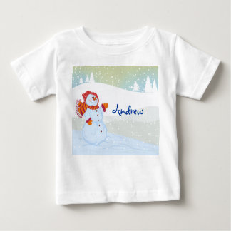 snowman land baby T-Shirt