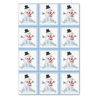 Snowman: Let It Snow Tissue Paper