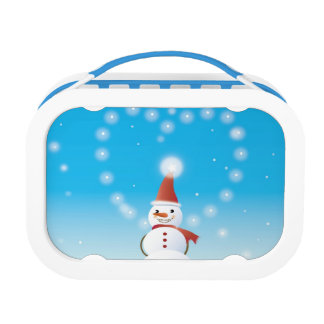 Snowman Lunch Box