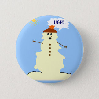 snowman melting button